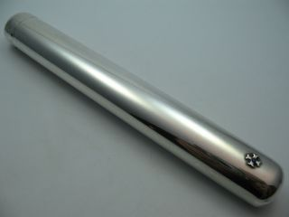 Wunderschönes Zigarrenetui Aus 925 Sterling Silber Für Eine Zigarre Bild
