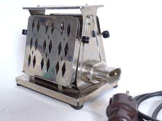 Seltener Aeg Art Déco Toaster Mit Kabel Pl - Nr.  247421 Chrom Bild