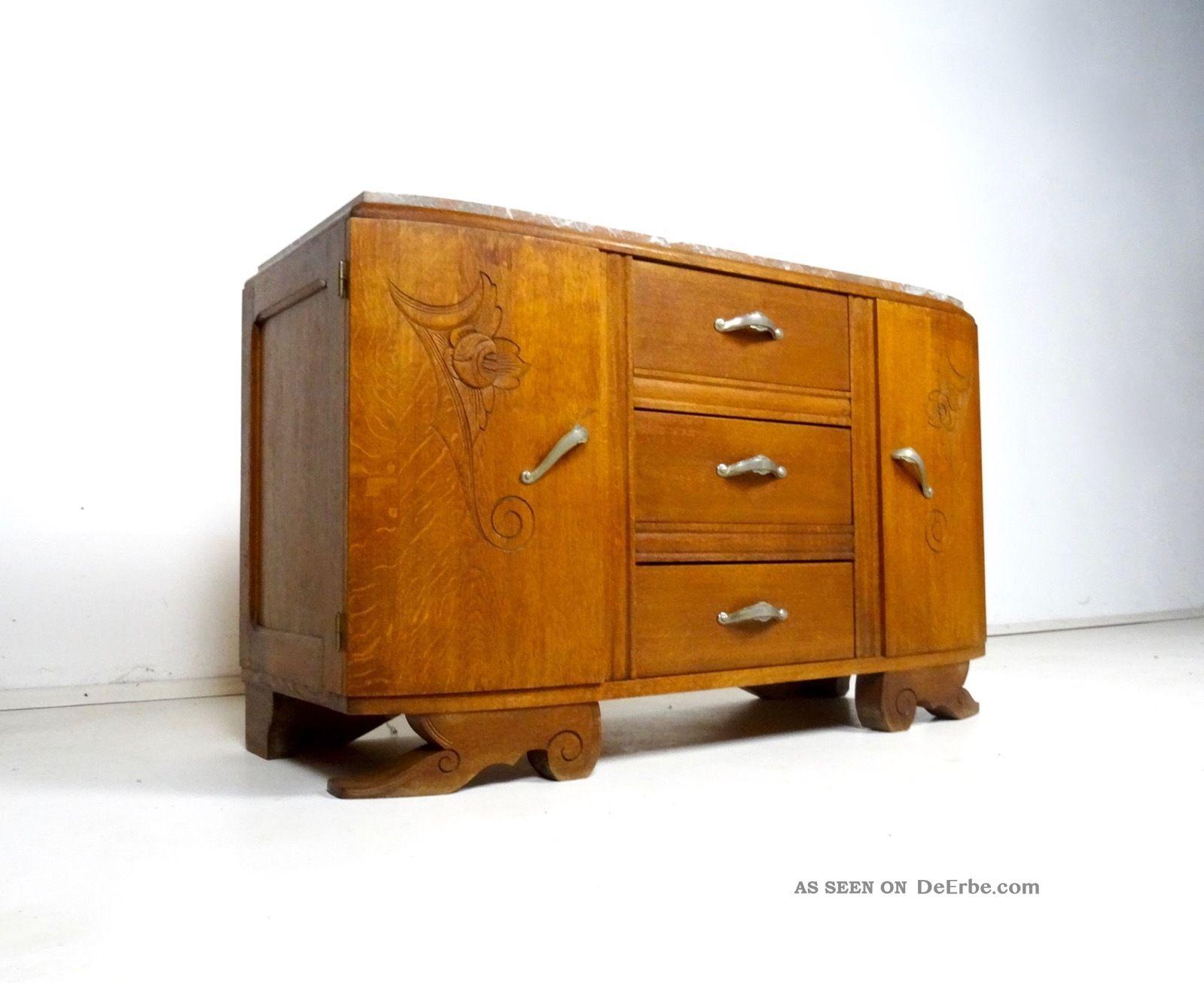 jugendstil kommode frankreich marmor eiche antik m bel handschnitzereien. Black Bedroom Furniture Sets. Home Design Ideas