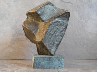 Hans Gerdes - Bronze ✨ LiebhaberstÜck ✨ 11,  5cm - Cube Skulptur Bild