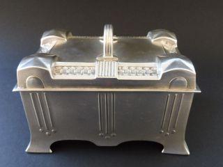 :: Rar Austria Hungary Szandrik Jugendstil Design Box Art Nouveau Wmf Orivt Aera Bild