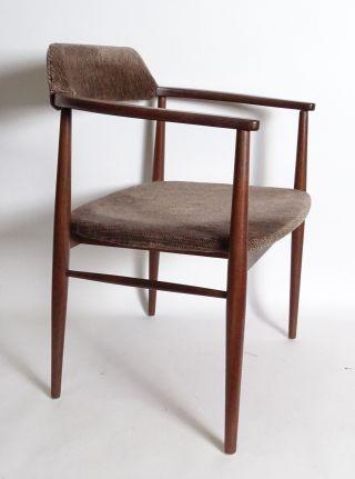 True Vintage Danish Design 50/60er Jahre Armlehnstuhl Stuhl Wohl Teakholz Bild