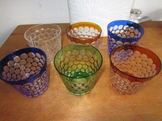 6 Römer Gläser Wasserrömer Glas Geschliffen Bild