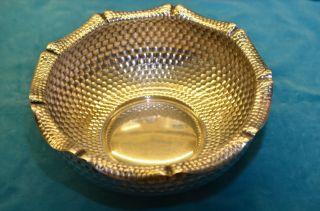 Alte Große Schale Schüssel Korb Silber 800 Bild