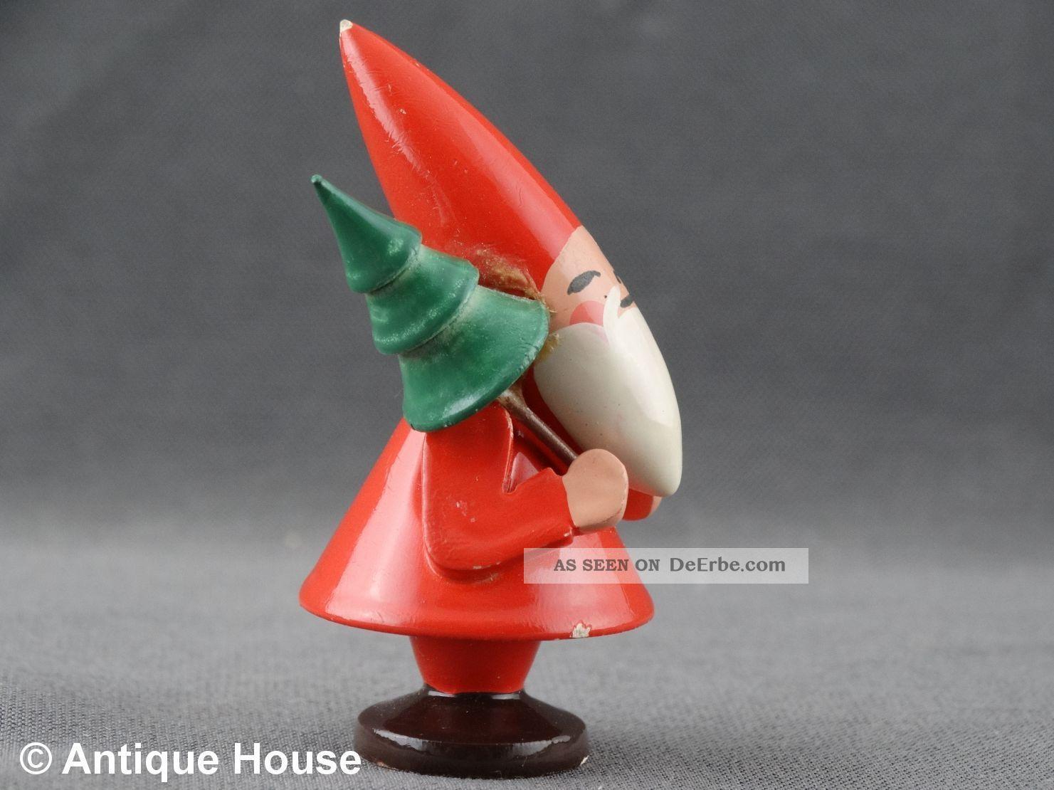 Wendt Und Kühn Tannenbaum.Wendt Kühn Alter Weihnachtsmann Wichtel Mit Tannenbaum Ovales Logo