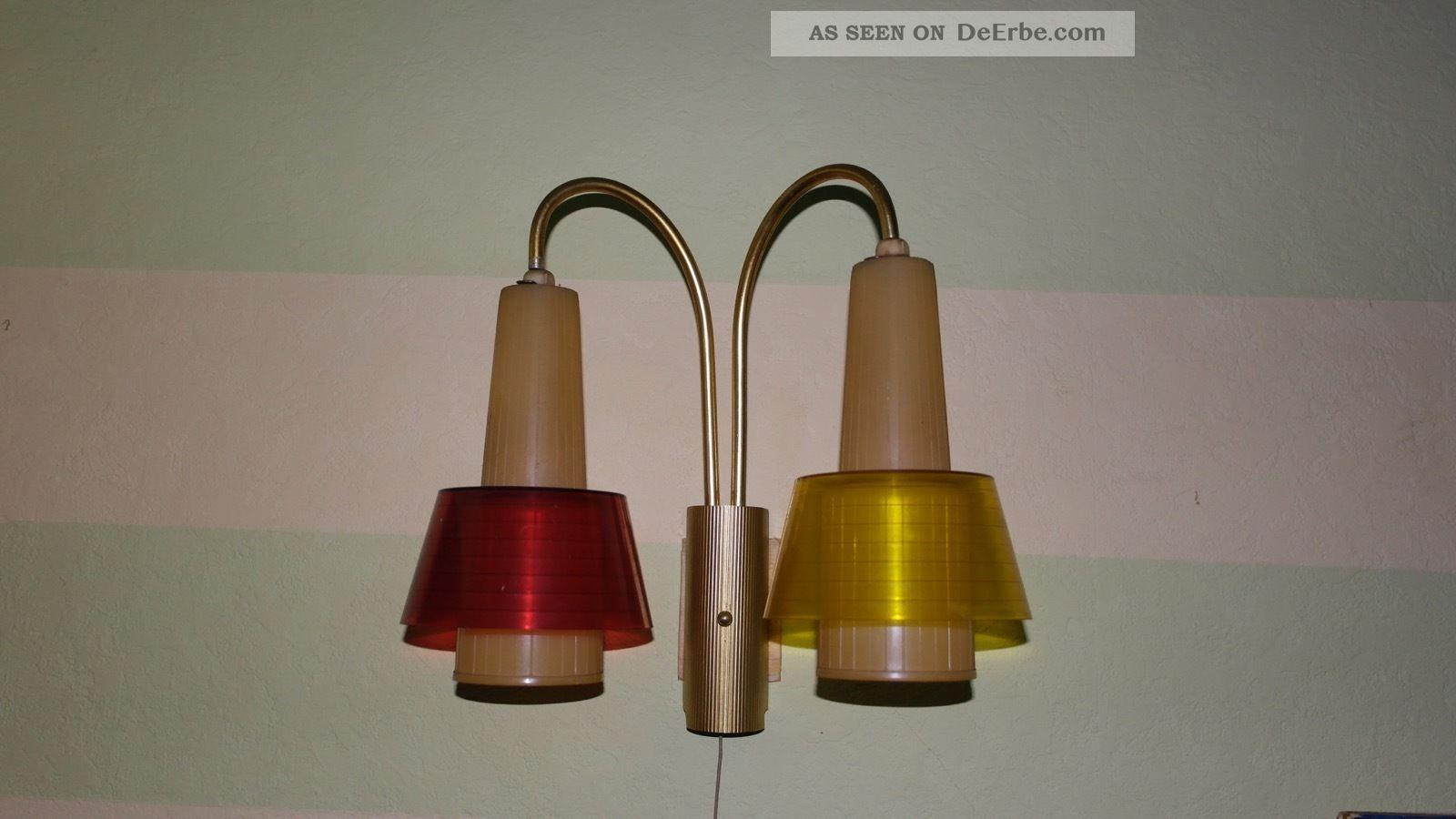 vintage fiftis erco bogen wandlampe 2 flammig 2 farben messing. Black Bedroom Furniture Sets. Home Design Ideas