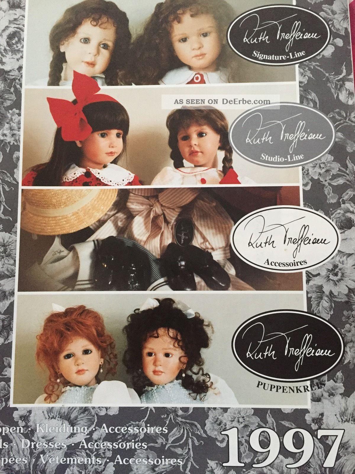 1997 Ruth Treffeisen Puppenkatalog Spielzeug-Literatur Bild