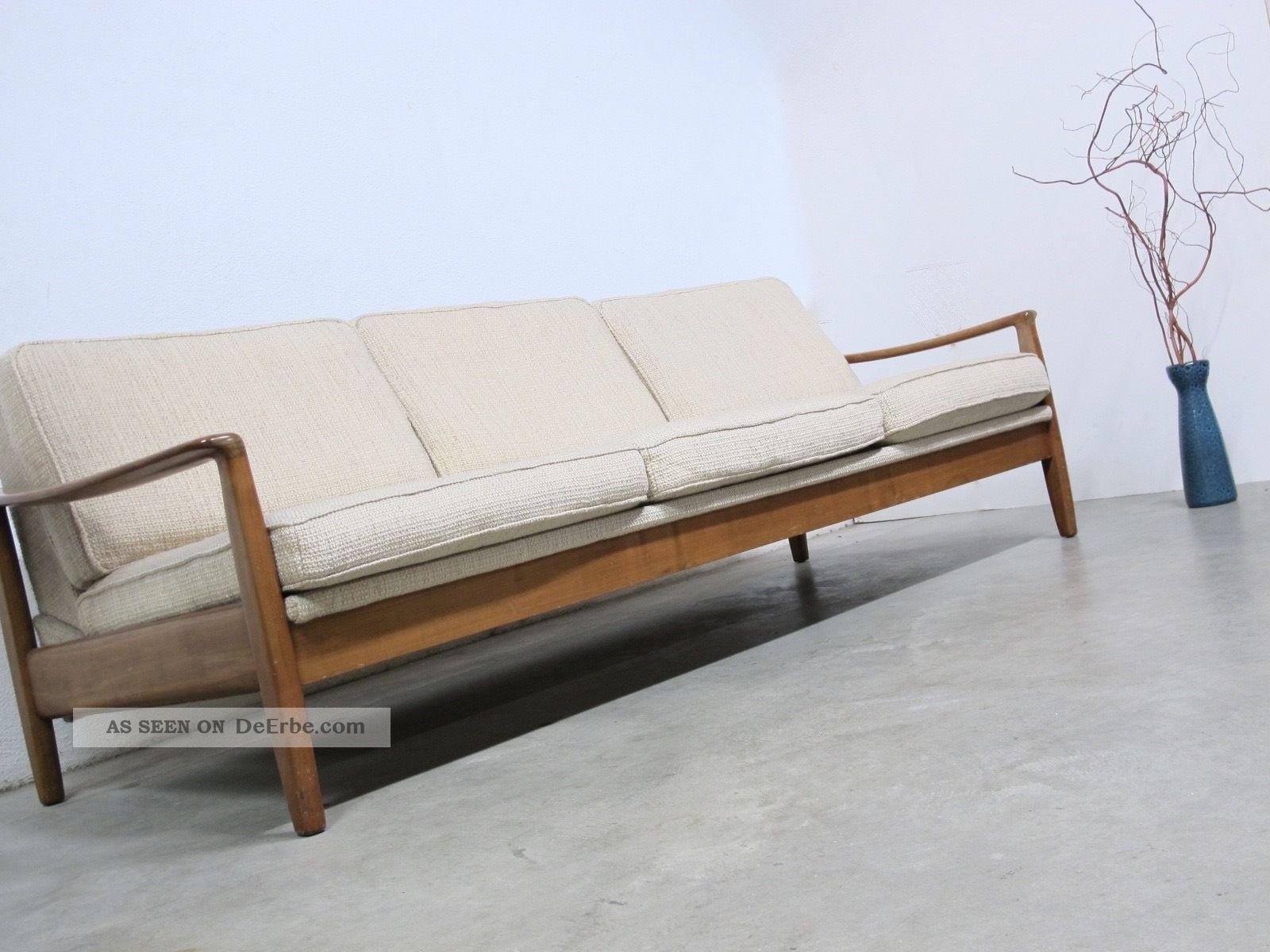 50s Daybed Midcentury Lounge Sofa Klappsofa Danish Style 1960-1969 Bild