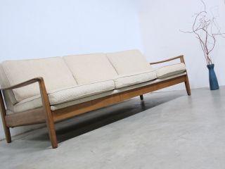 50s Daybed Midcentury Lounge Sofa Klappsofa Danish Style Bild
