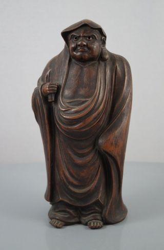 Japanische Bizen Bodhidharma (daruma) Statue Figur Japan Figurine Bild
