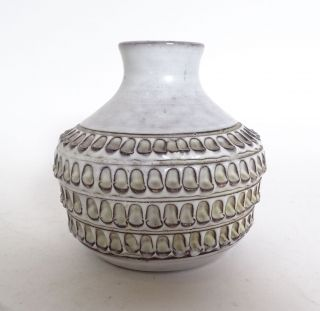 Handgearbeitete Studio Design Keramik Vase Signiert F.  S.  Nr.  855/12 Bild