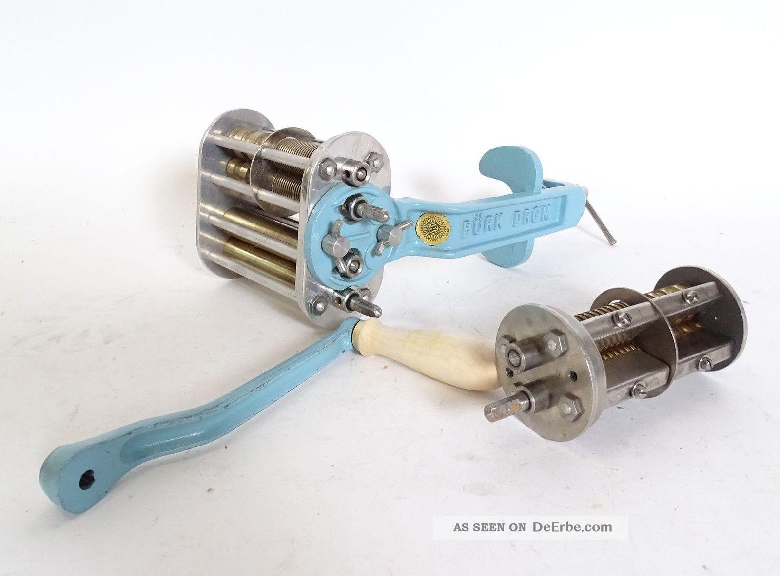 BÜrk Drgm No.  581 Nudelmaschine Nudelwalze Haushalt Bild
