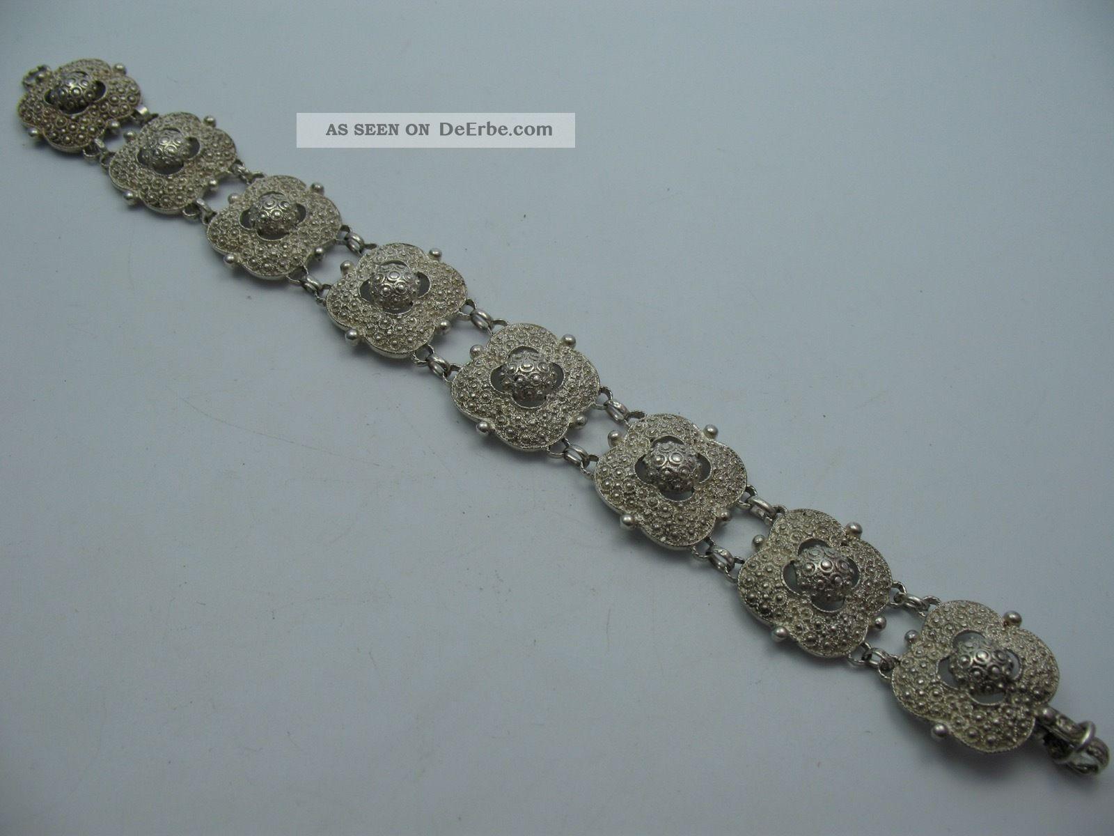 Theodor Fahrner Sehr Schönes Prächtiges Armband Aus 925 Sterling Silber Schmuck & Accessoires Bild