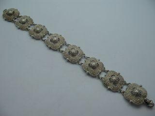 Theodor Fahrner Sehr Schönes Prächtiges Armband Aus 925 Sterling Silber Bild