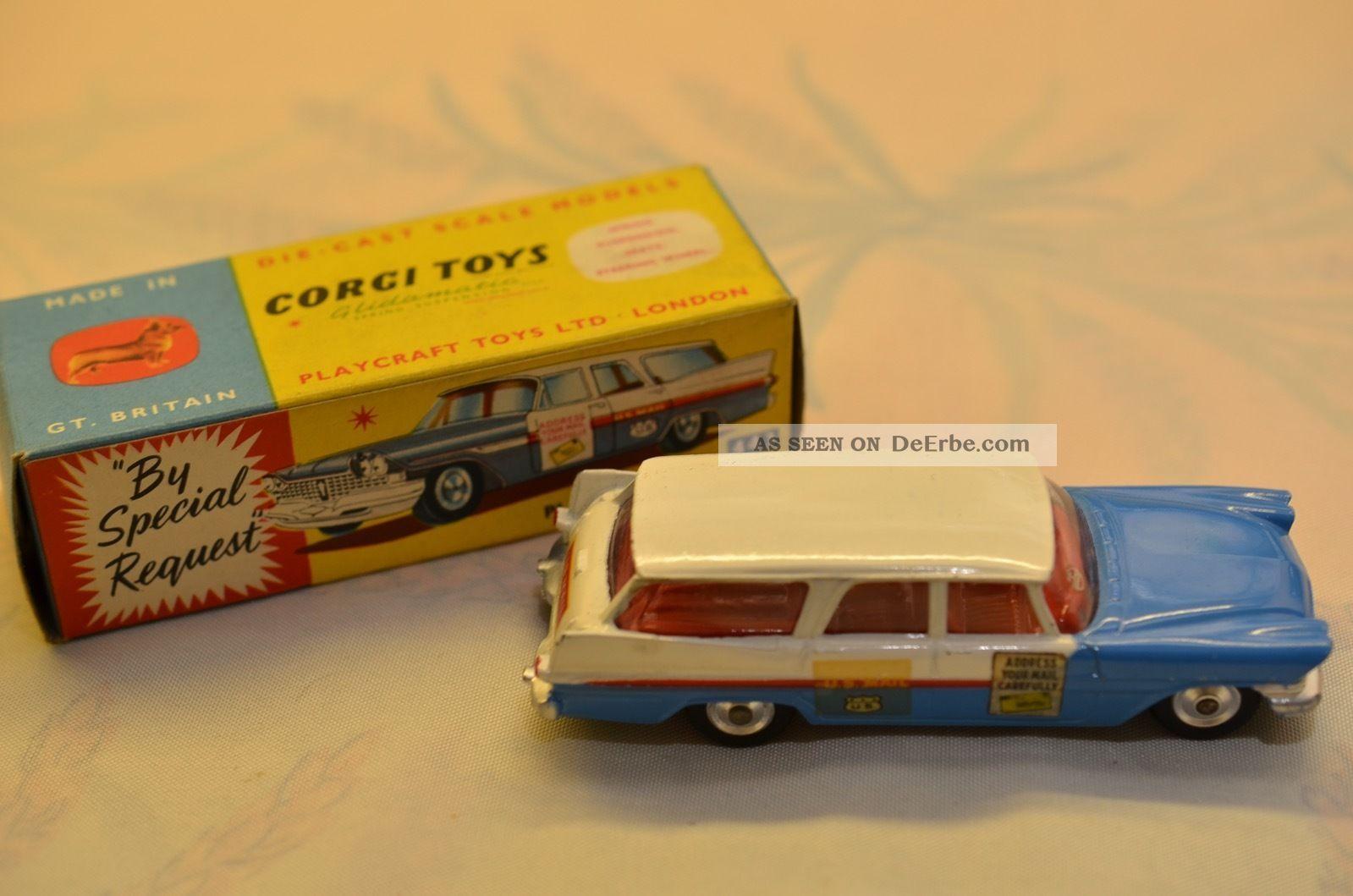 Sammlerstück Corgi Toys 443 Plymouth - U.  S.  Mail Fahrzeuge Bild