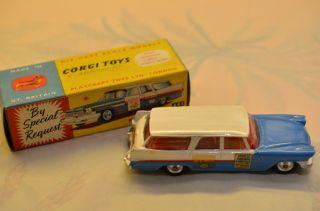 Sammlerstück Corgi Toys 443 Plymouth - U.  S.  Mail Bild