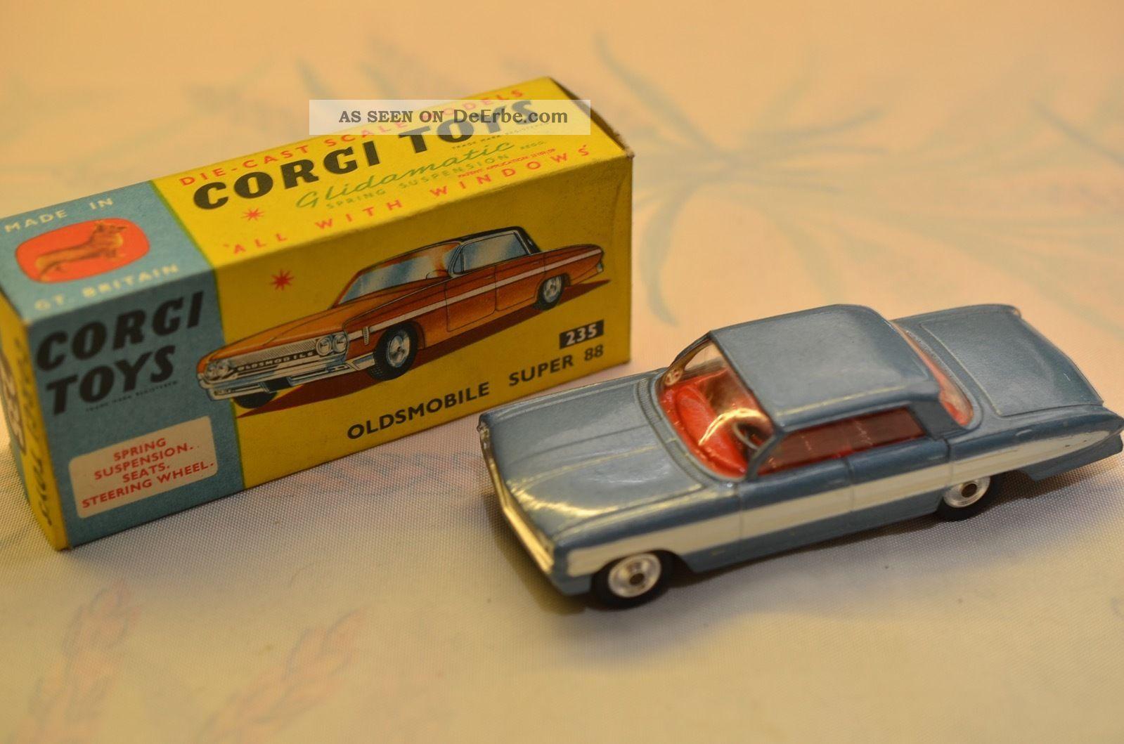 Sammlerstück Corgi Toys 235 Oldsmobile Supper 88 Fahrzeuge Bild