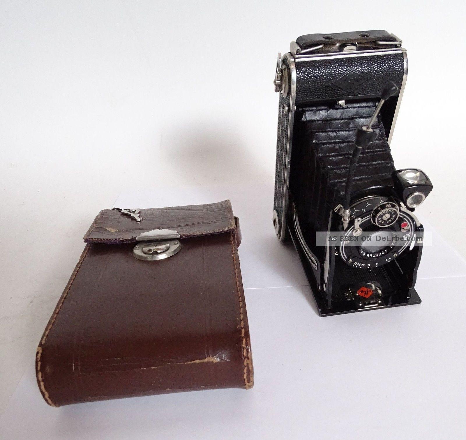 Antike Agfa Billy Iii Balgenkamera Pronto Drgm Rollfilmkamera Photographica Bild