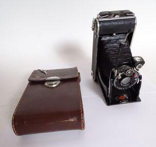 Antike Agfa Billy Iii Balgenkamera Pronto Drgm Rollfilmkamera Bild
