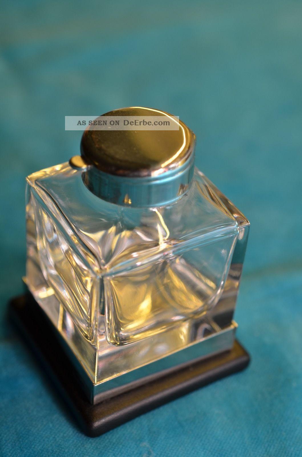Altes Schönes Glas - Tintenfass Sammlerstück Glas & Kristall Bild
