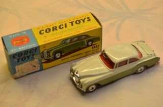 Sammlerstück Corgi Toys 224 Bentley Continental Bild