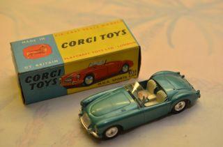 Sammlerstück Corgi Toys 302 M.  G.  A.  Sports Car Bild