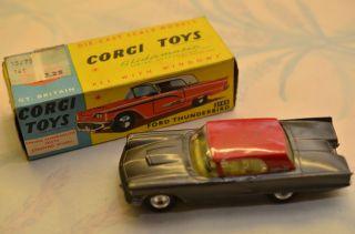 Sammlerstück Corgi Toys 214s Ford Thunderbird Bild
