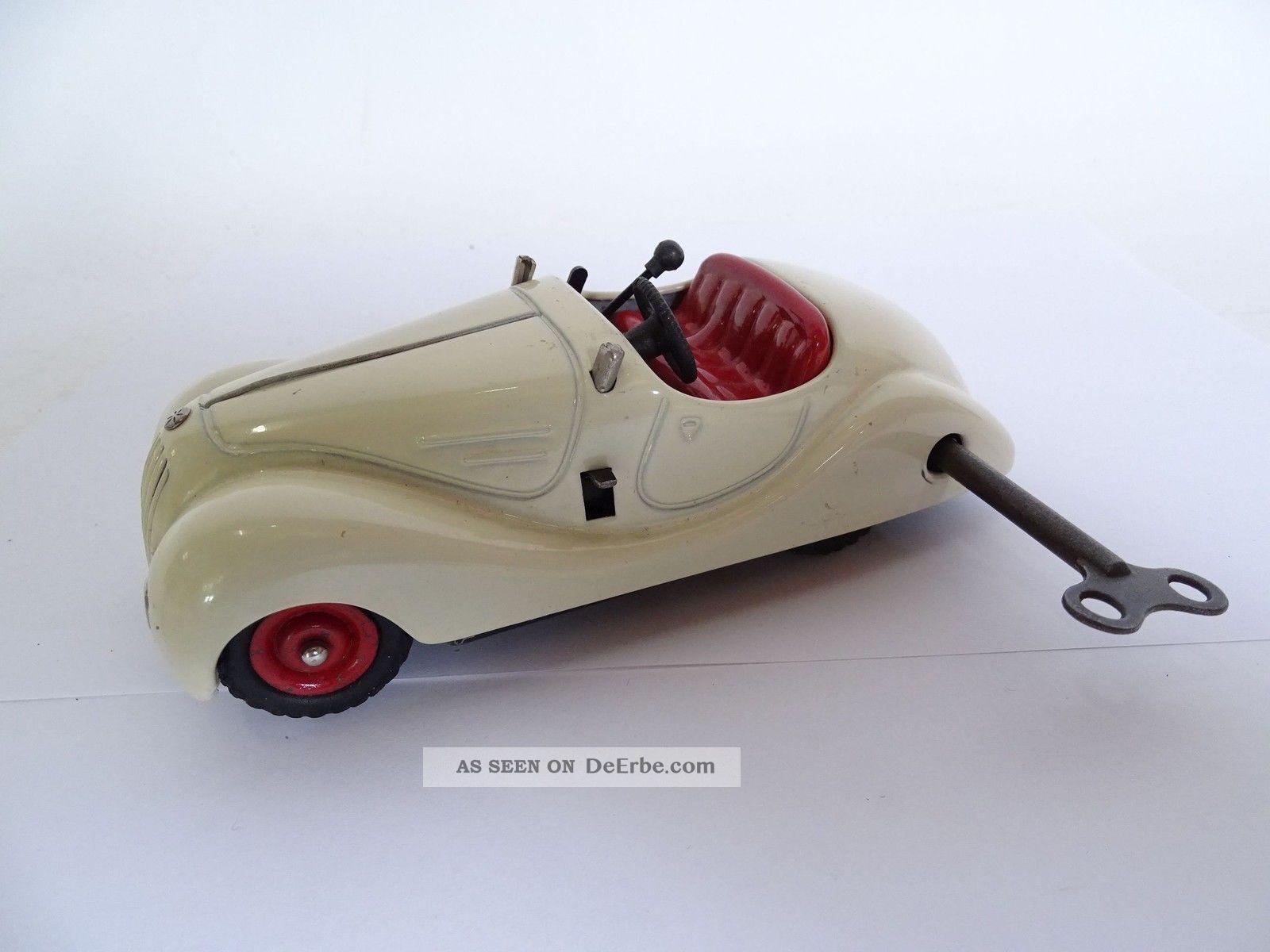 Schuco Examico 4001 Blechspielzeug Modell Auto Uhrwerk Mit Schlüssel Original, gefertigt 1945-1970 Bild
