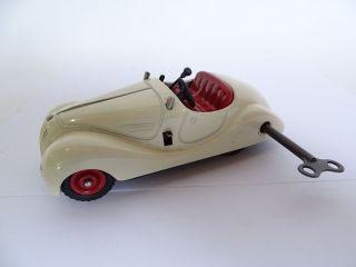 Schuco Examico 4001 Blechspielzeug Modell Auto Uhrwerk Mit Schlüssel Bild