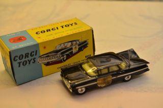 """Sammlerstück Corgi Toys 223 Chevrolet """"state Patrol"""