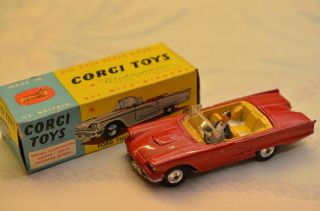 Sammlerstück Corgi Toys 215s Ford Thunderbird - Open Sports Bild