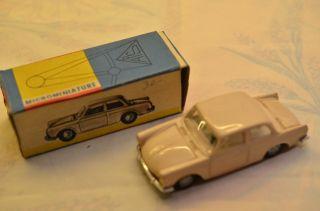 Sammlerstück Politoys Microminiature 46 Volkswagen 1500 Bild