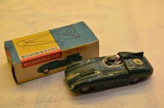 Sammlerstück Politoys Microminiature 55 Yaguar Le Mans Bild