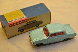 Sammlerstück Politoys Microminiature 66 Ford Taunus Bild