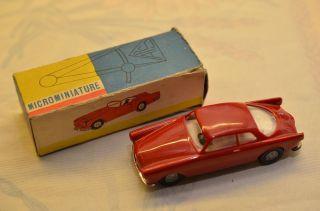 Sammlerstück Politoys Microminiature 41 Alfa Romeo 2000 Spyder Bild