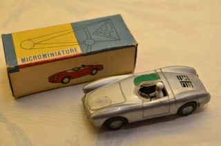 Sammlerstück Politoys Microminiature 54 Porsche Spyder Bild