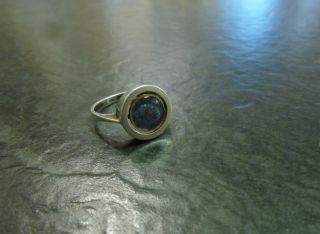 Silberring Opal - Doublette 835 Er Silber Silberschmuck Bild