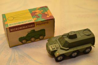Sammlerstück Politoys Microminiature Nr.  5 Schützen - Panzer Bild