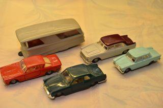 Sammlerstücke 5 Stück Politoys Microminiature Nr.  40,  33,  45,  47,  44 Bild