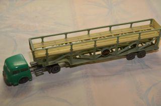 Sammlerstück Siku V100 Sattelschlepper Auto Transporter Bild