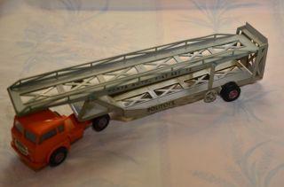Sammlerstück Politoys Fiat 682 Camion Porta Auto Transporter Bild