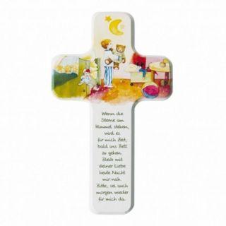Kinderkreuz - Wenn Die Sterne Am Himmel Stehen Geburt Taufe Kinderzimmer Bild