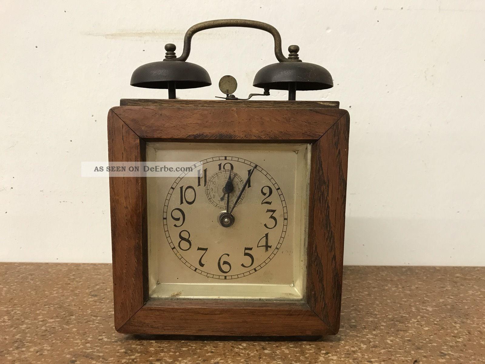 Antiker Wecker Uhr Tischuhr - Um 1900