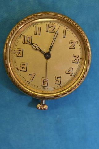 Alte Junghans Borduhr Oder Oldtimeruhr Mit Alarm Rund Funktioniert Bild