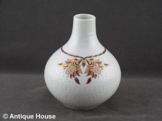 Rosenthal Vase Tischvase Romanze Orchidee Von B.  Wiinblad Studio Linie Bild