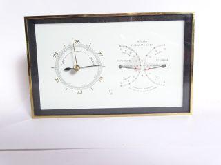 50 Jahre Rarität Seltener Lufft Raummesser Thermo Hygro Und Barometer Mollenkopf Bild