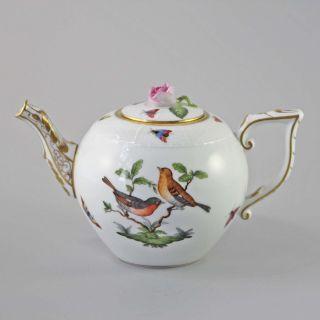 Herend Rothschild Teekanne 602 / Ro 15 Cm 1,  2 Ltr.  1.  Wahl Bild