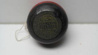Vintage 50´s Geniune Beginners Holz Yo - Yo Von Duncan Rot - Schwarz Bild