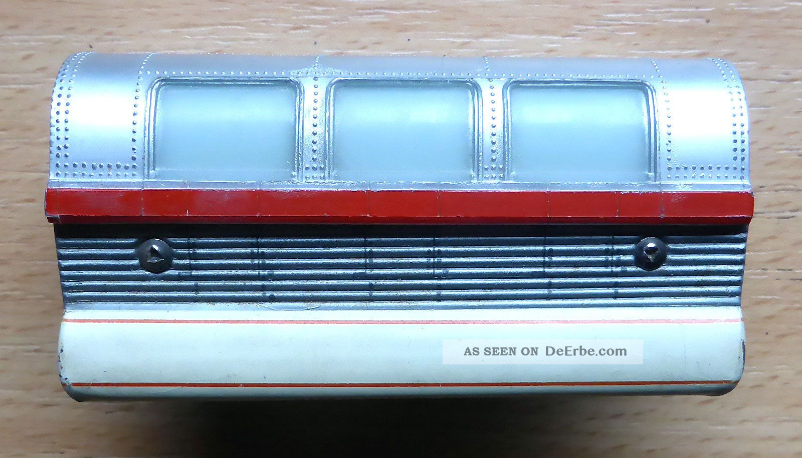 Schuco Monorail 6333/0/2; Mittelwagen Silber - Beige /d578 Original, gefertigt 1945-1970 Bild