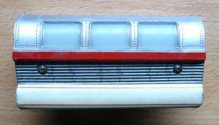 Schuco Monorail 6333/0/2; Mittelwagen Silber - Beige /d578 Bild
